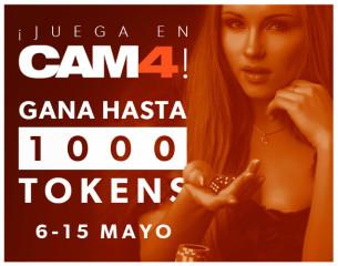 ¡Diviértete con los juegos del chat CAM4 y gana 1000 tokens! (Finalizado)