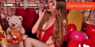 Entrevista con la bella modelo webcam Diamondtream