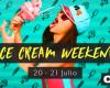 ¡Muchas chupadas y juegos sexy este fin de semana en CAM4 con el Ice Cream Weekend!