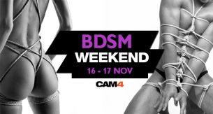 BDSM Weekend: Fin de semana trasgresor y perverso en CAM4!