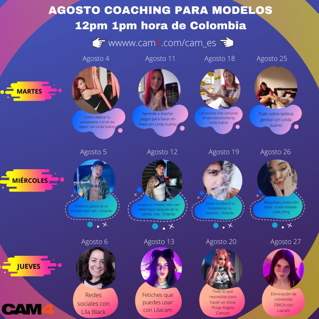 Coaching pour les Modèles CAM4: Invité spécial Liacam